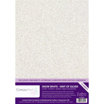 Centura Pearl Single Colour Snow White Hint of Silver BA5604