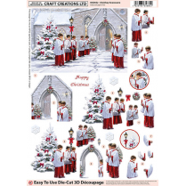 Craft Creations Choirboy Snowscene