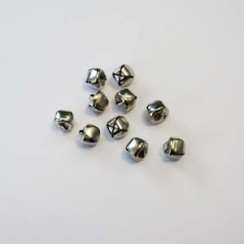 Crafts Too Christmas Bells - 12mm Silver (10pcs)