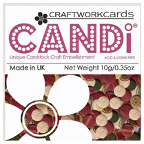 Craftwork Cards CHRISTMAS CHEER CARD CANDI