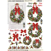 Craft Creations Christmas Wreath