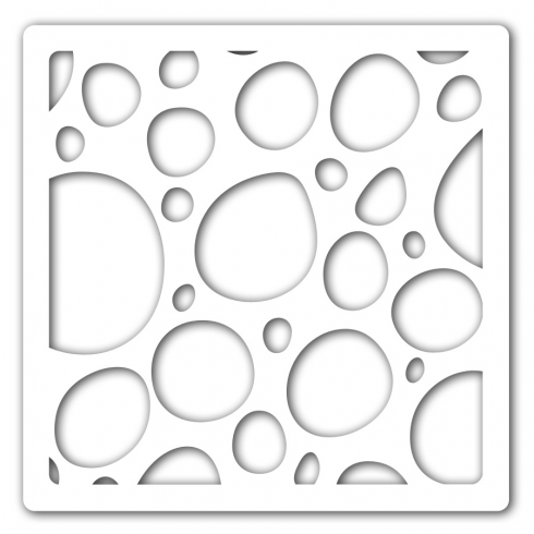 Clarity Claritystamp Double Bubble 7 x 7 Inch