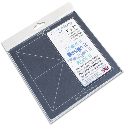 Clarity Claritystamp Ltd Mega Mount 7 x 7 Inch