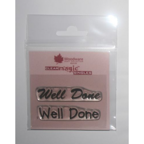 Woodware Clear Magic Singles - Well Done