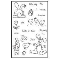Woodware Clear Magic Stamps - Easter Fun