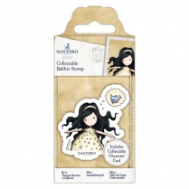 Docrafts Collectable Rubber Stamp - Santoro - No. 44 Free As A Bird