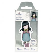 Docrafts Collectable Rubber Stamp - Santoro - No. 52 Waiting