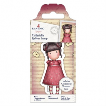 Docrafts Collectable Rubber Stamp - Santoro - No. 54 Sweetheart