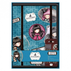 Gorjuss Collectable Rubber Stamp Storage Case - Santoro (Includes No. 1 Ruby Stamp)
