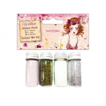 Docrafts Colour Me In Glitter Pack (4pk) - Santoro