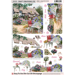 Craft Creations Cottage Patio Garden
