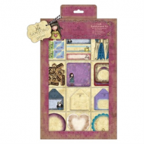 Gorjuss Craft Embellishment Kit (81pcs) - Santoro