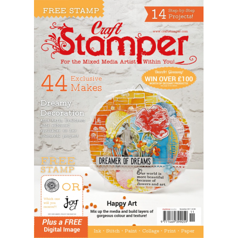 Craft Stamper November 2017