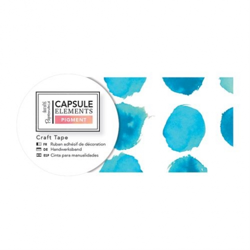 Docrafts Craft Tape (3m) - Capsule Collection - Elements Pigment - Blue Dot