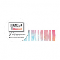 Docrafts Craft Tape (3m) - Capsule Collection - Elements Pigment - Colour Stripe