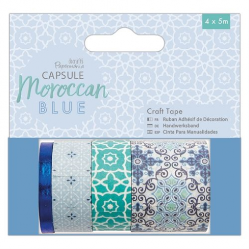 Docrafts Craft Tape (4 x 5m) - Capsule - Moroccan Blue