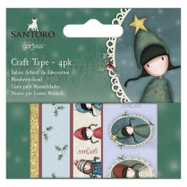 Gorjuss Craft Tape (4pk) - Santoro