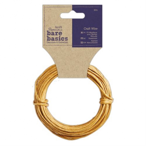 Papermania Craft Wire (10m) - Bare Basics