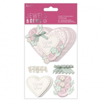 "Papermania ""Craft Your Own Toppers"" - With Love - Jewels & Gems"