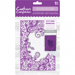 Crafters Companion Cut and Emboss Folder - Petite Florals