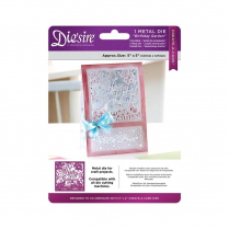 "Crafters Companion Diesire 5"" x 5"" Create a Card - Birthday Garden"