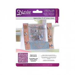 "Crafters Companion Diesire 5"" x 5"" Create a Card - Country Garden"