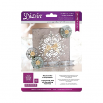 Crafters Companion Diesire - Christmas Create a Card Cut In - Ornate Snowflake
