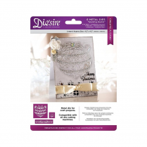 Crafters Companion Diesire - Christmas Create a Card Cut In - Sparkling Bauble