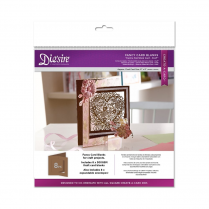 Crafters Companion Diesire Die Cut Fancy Card Blanks - Centre Fold (Kraft)