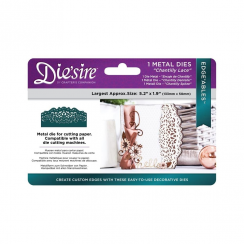 Crafters Companion Diesire Edgeables - Chantilly Lace
