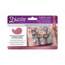 Crafters Companion Diesire Mixed Media Dies - Perfecly Paisley