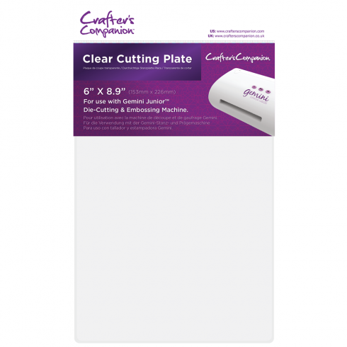 Crafters Companion Gemini Junior Accessories - Clear Cutting Plate