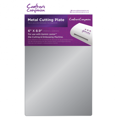 Crafters Companion Gemini Junior Accessories - Metal Cutting Plate