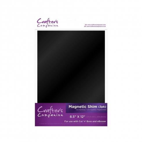 Crafters Companion Machine Plates - Magnetic Shim (3 pk)