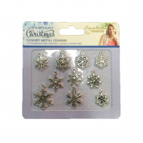 Crafters Companion Sara Signature Collection - Contemporary Christmas Metal Charms