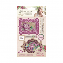 Crafters Companion Sara Signature Collection - Floral Delight 3D Topper - Youre the Best