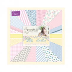 "Crafters Companion Sara Signature Collection - Little Angel 12"" x 12"" Paper Pad"