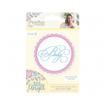 Crafters Companion Sara Signature Collection - Little Angel Metal Die - Beautiful Baby