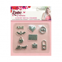 Crafters Companion Sara Signature Collection - Love & Romance Metal Charms