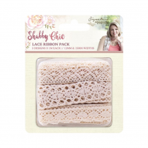Crafters Companion Sara Signature Collection - Shabby Chic Lace Ribbon Pack