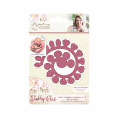 Crafters Companion Sara Signature Collection - Shabby Chic Metal Die - Aged Rose
