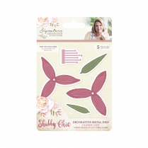 Crafters Companion Sara Signature Collection - Shabby Chic Metal Die - Classic Lily