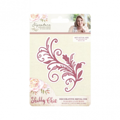 Crafters Companion Sara Signature Collection - Shabby Chic Metal Die - Filigree Flourish