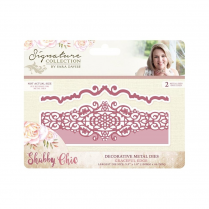 Crafters Companion Sara Signature Collection - Shabby Chic Metal Die - Graceful Edge