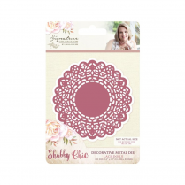 Crafters Companion Sara Signature Collection - Shabby Chic Metal Die - Lace Doily