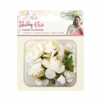 Crafters Companion Sara Signature Collection - Shabby Chic Paper Flowers