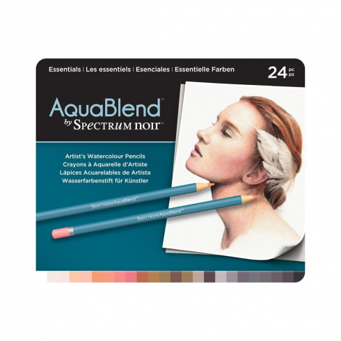 Spectrum Noir Crafters Companion Spectrum AquaBlend Pencils - Essentials