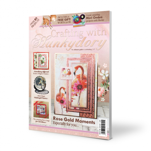 Hunkydory Crafting with Hunkydory Project Magazine - Issue 37