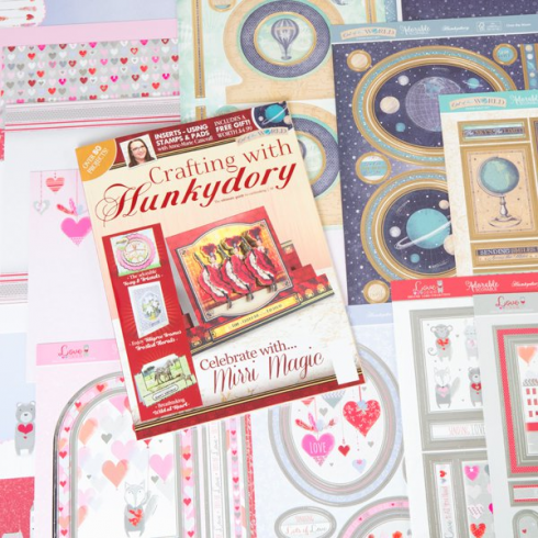 Hunkydory Crafting With Hunkydory Project Magazine - Issue 38