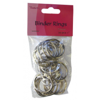 Crafts Too Binder Rings 20pcs 1""
